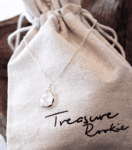 REELYSE.COM TREASURE ROOKIE Rookie Rush Necklace White Transparant